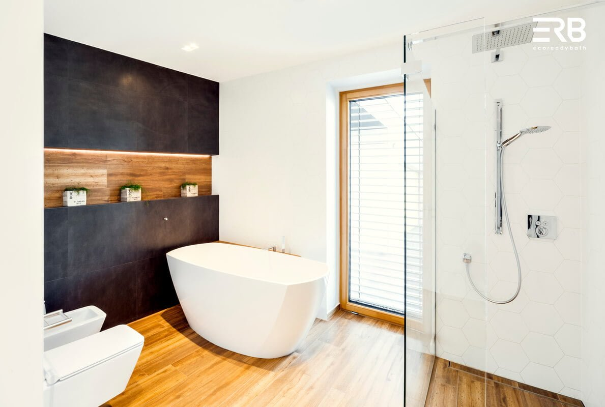 Prefabrykowane łazienki Ecoreadybath